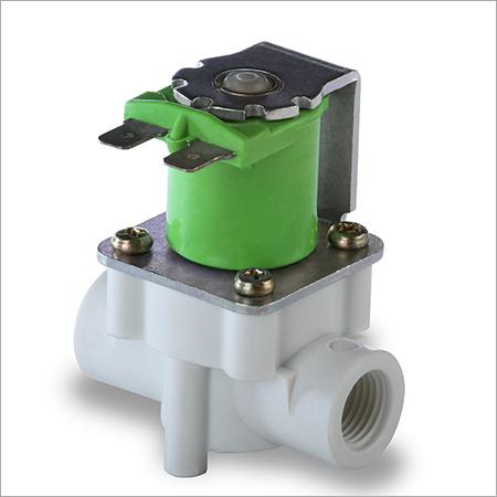 Inside threaded solenoid valve for RO system