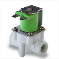 Inside threaded solenoid valve for RO system