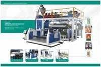 Multi-layer In line paper plastic & AL Extrusion Laminating Machine