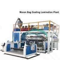 Twin Extruders & Double Surfaces Plastic Extrusion Laminating Machine