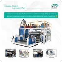 extrusion and coating laminating machine line