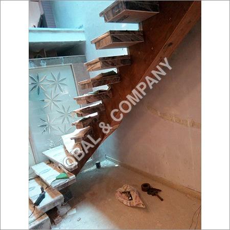 Wooden Duplex Staircase