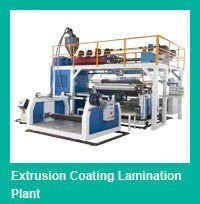 Multi layer In line paper plastic Extrusion Laminating Machine