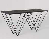 Designer Industrial Side Table