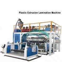 Three layer plastics coextrusion lamination blowing film line