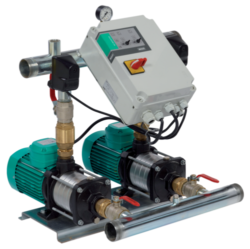 Horizontal Twin Booster Pump