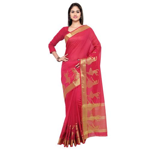 Weaving Work Saree