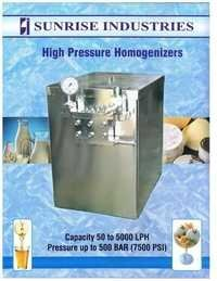 High Pressure Homogenizer Milk Homogenizer Dairy Homogenizer