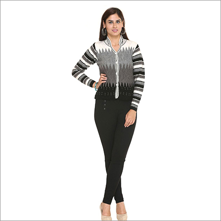 Pashmina Trendy Ladies Cardigan