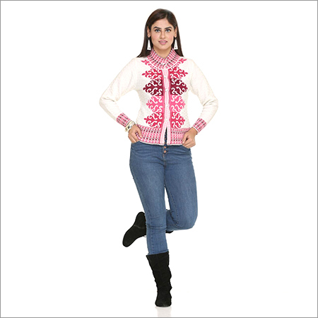 Ladies Designer Knitted Cardigan