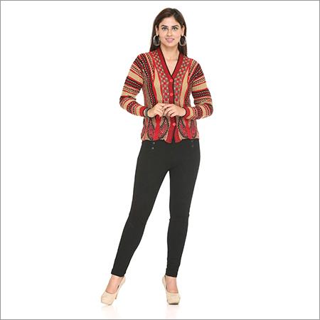 Pashmina Knitted  Cardigan