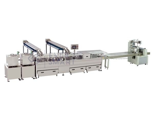 Double Color Sandwiching Machine With Packaging