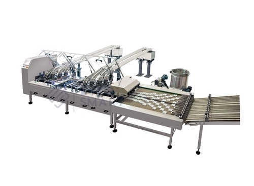 Four Lane Biscuit Sandwiching Machine With Row Mul