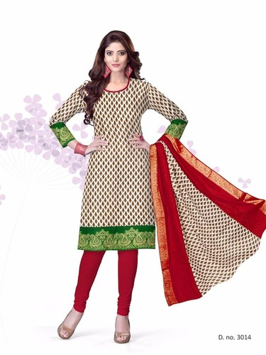 Kavya Jaquard Border Top Materials Wholesaler