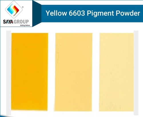 Yellow 6603 Pigment Powder