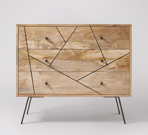 Industrial Cabinet Chest of Drawers
