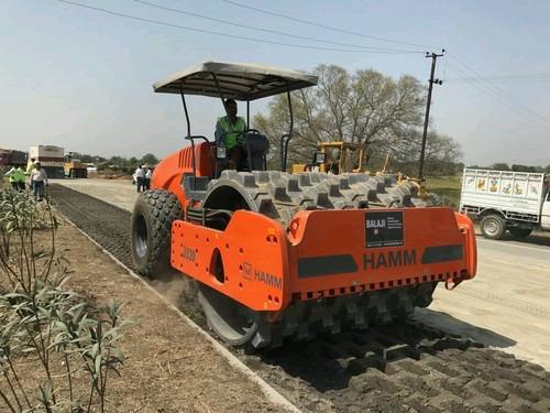 Bitumen Stabilization Work In progress