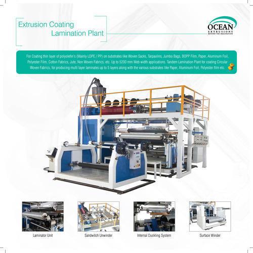 plastic extrusion Lamination machinery
