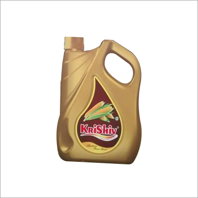 Krishiv Premium Refined Corn Oil 5 Litter Jar