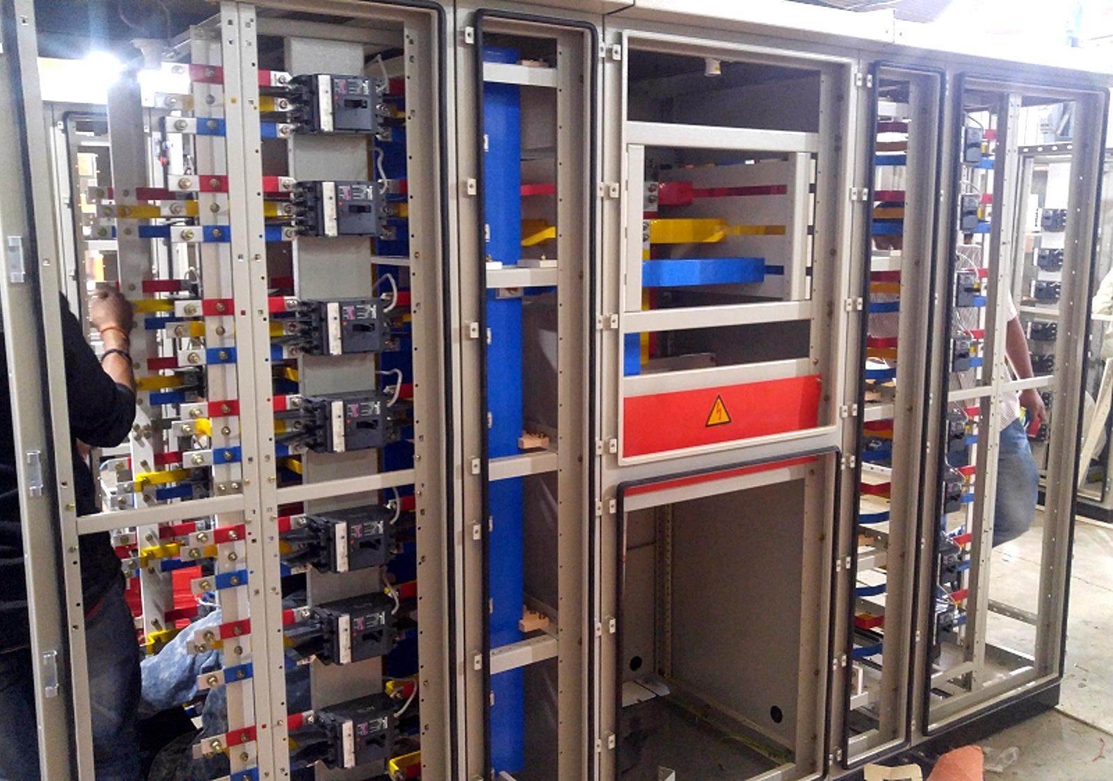 Solar Power Control Panel