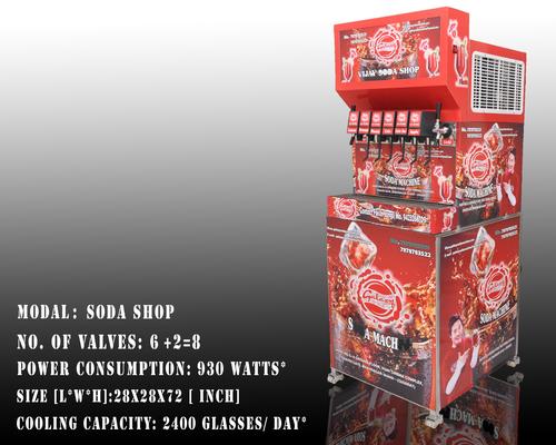 Multi Flavor Soda Machine