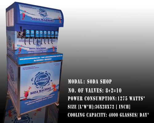 10 Valve Soda Machine