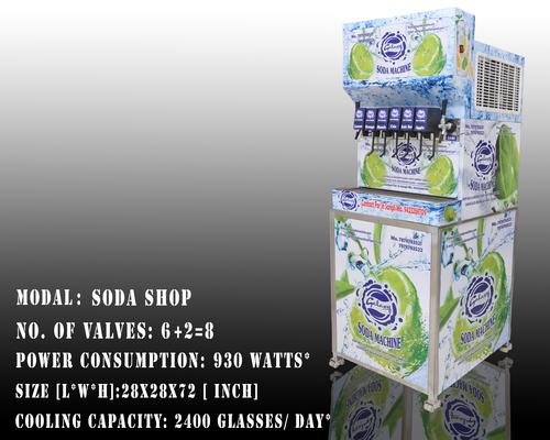 6+2  Valve Soda Machine