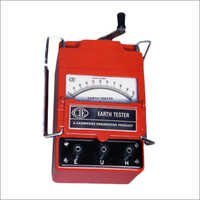 Hand Driven Generator Type Analogue Earth Tester
