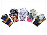 Transfer Digital Printed Gloves