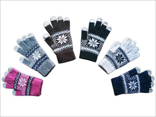 Wool Touchscreen Gloves
