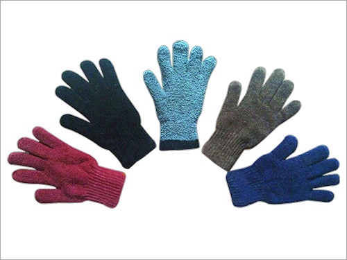 Chenille Gloves With Linning