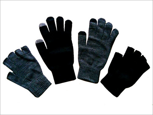 Acrylic Men Gloves