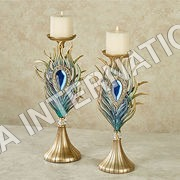Peacock Candle Holder