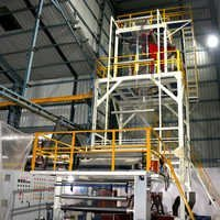 Five layer plastic sheet extrusion machinery