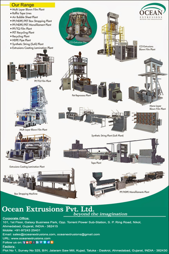 Extrusion Machine Process