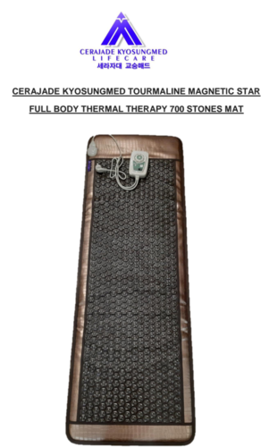 Tourmaline Magnetic Star Thermal Therapy Mat