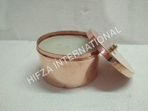 Copper Cup Candle