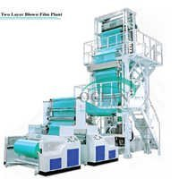 film blowing machine -three layer width multilayer co extruded blowing film machine