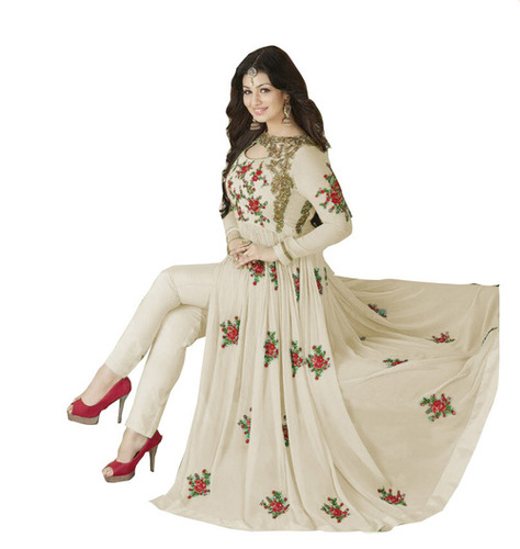 FANCY DESAIGNER CUT-STYLE ANARKALI SUIT