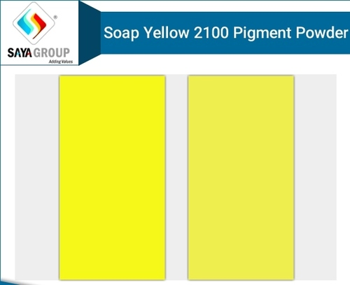 Soap Yellow 2100 Pigment Powder