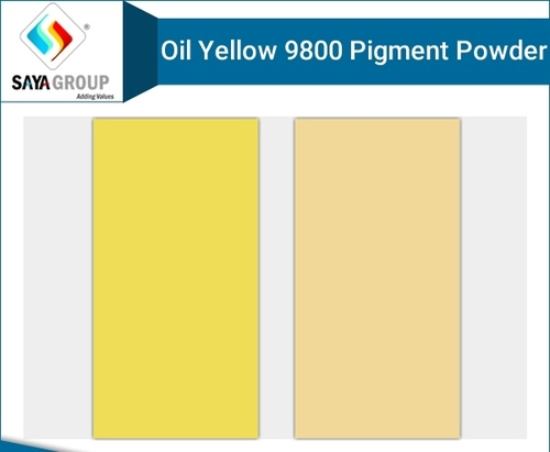 Oil Yellow 9800 Pigment Powder