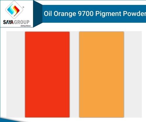 Oil Orange 9700 Pigment Powder