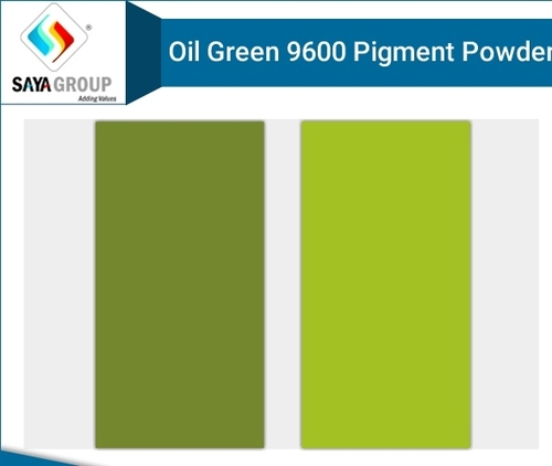 Oil Green 9600 Pigment Powder