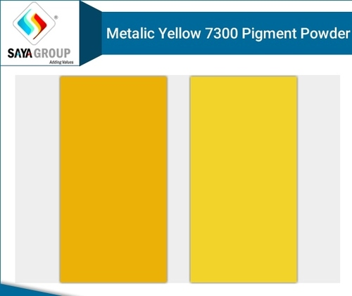 Metalic Yellow 7300 Pigment Powder
