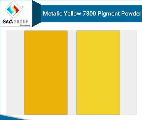 Metalic Yellow Pigment Powder