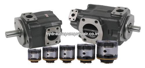 Rotary vane hydraulic pump Repair