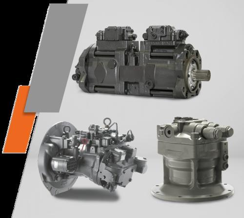 Tata Hitachi Axail Piston Pump Repair