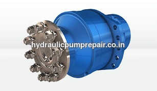 Poclain Hydraulic Motor Repair