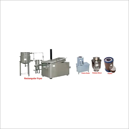 Batch Type Potato Chips Frying Line