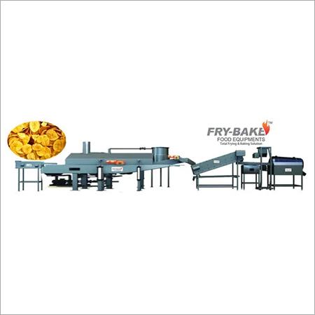 Semi Automatic Banana Chips Frying Line